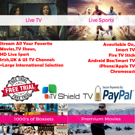 InfinityHD Streaming Service